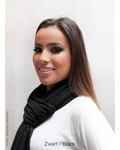 Maysa sjaal - Zwart