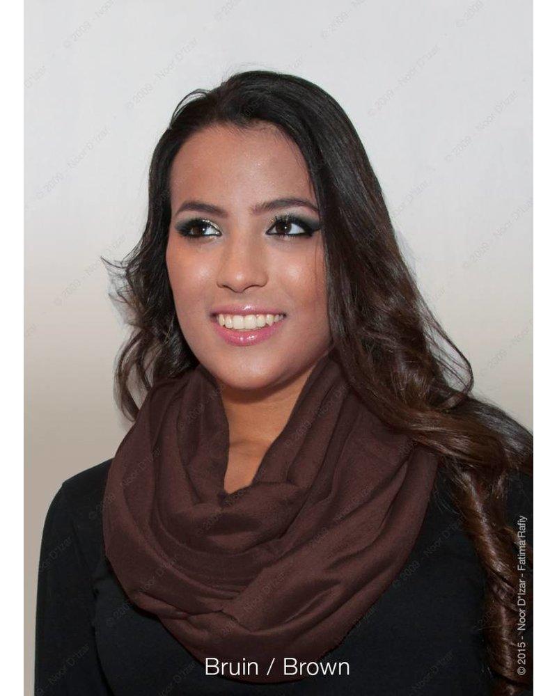 Madina tube scarf - Brown