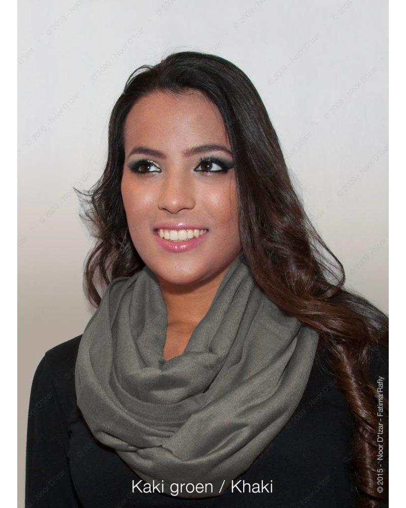 Madina tube scarf - Khaki green