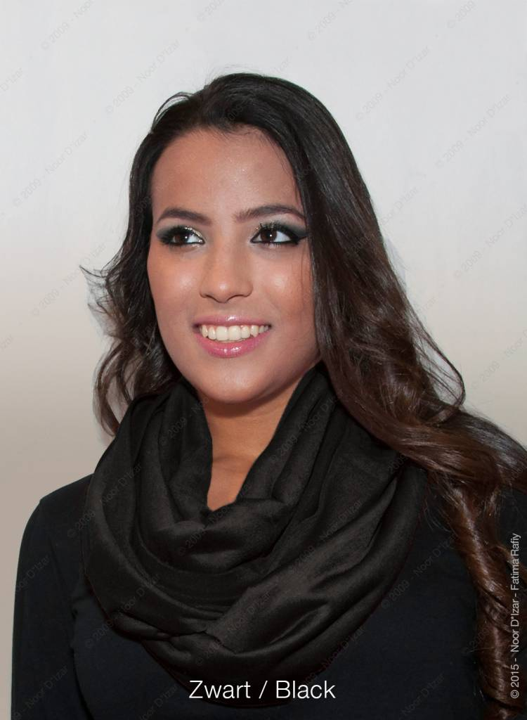 Madina tube scarf - Black