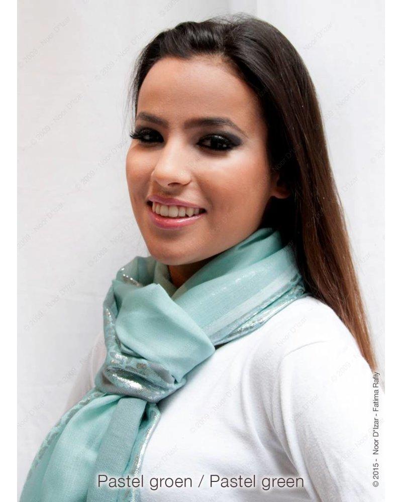 Hooda Sjaal - Pastel groen