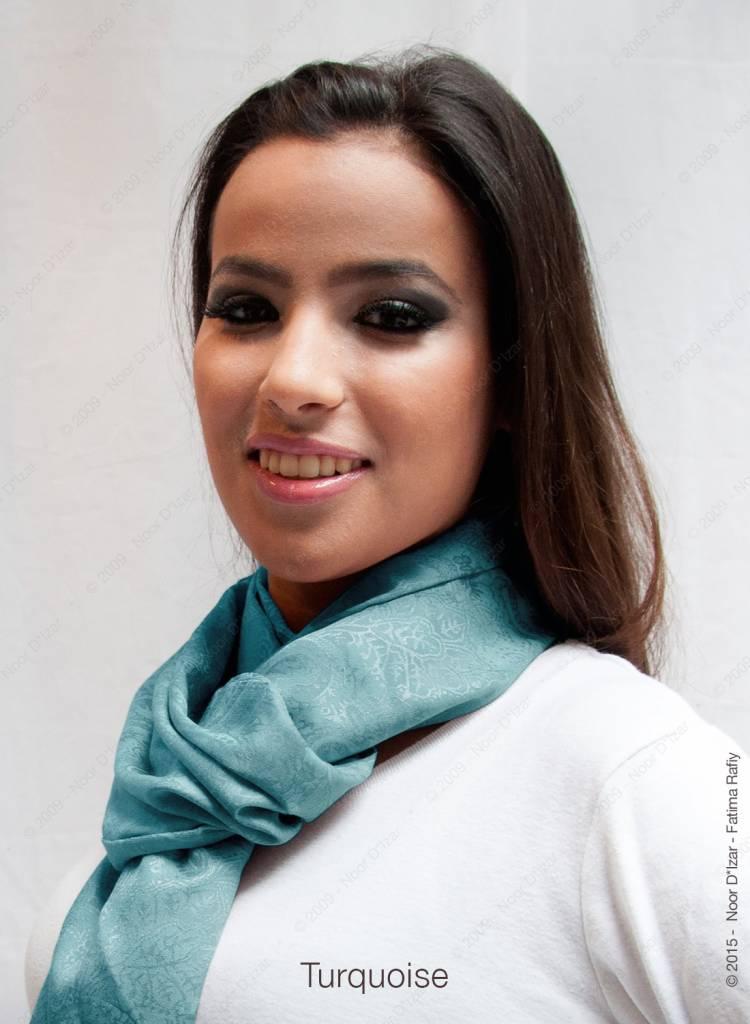 Adira Sjaal - Turquoise