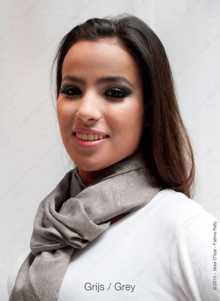Adira Sjaal - Grijs