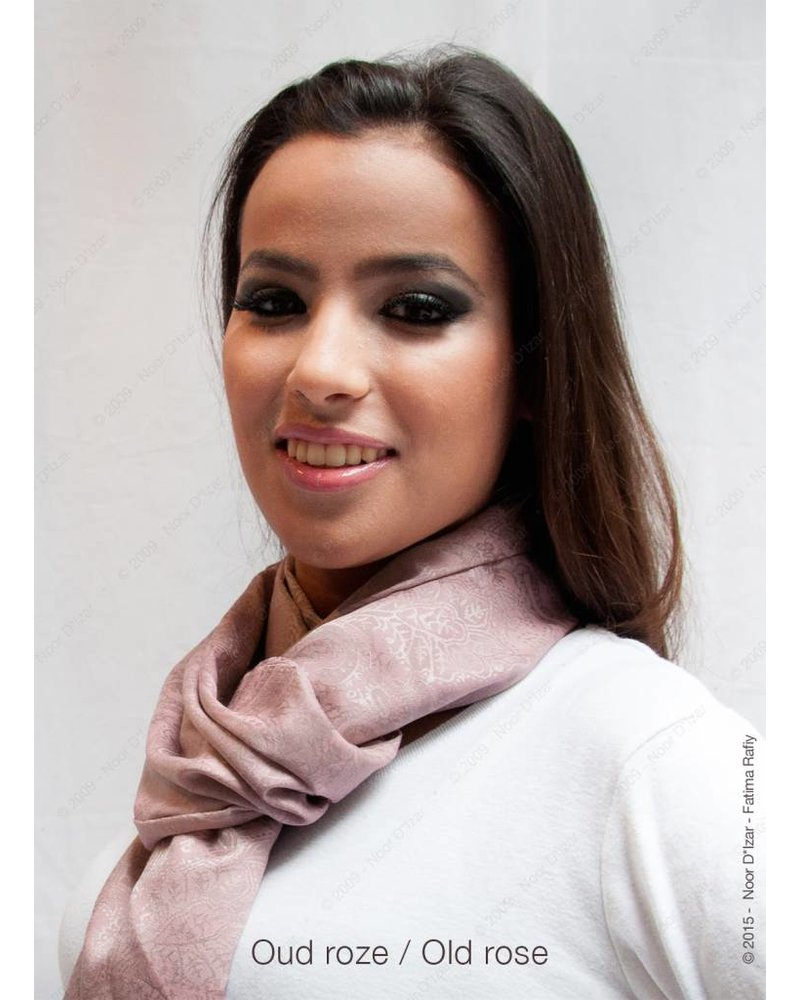 Adira Sjaal - Oud roze