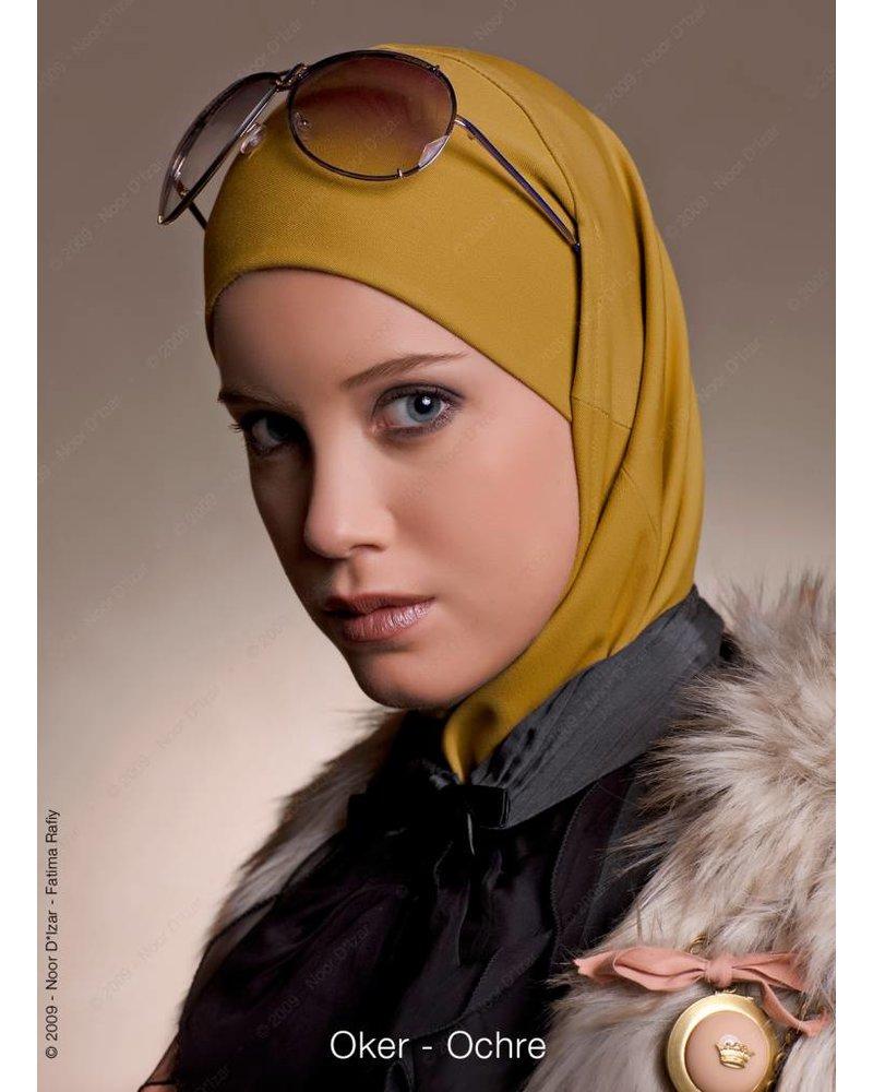 Noor D*Izar Imsar hijab - Ochre