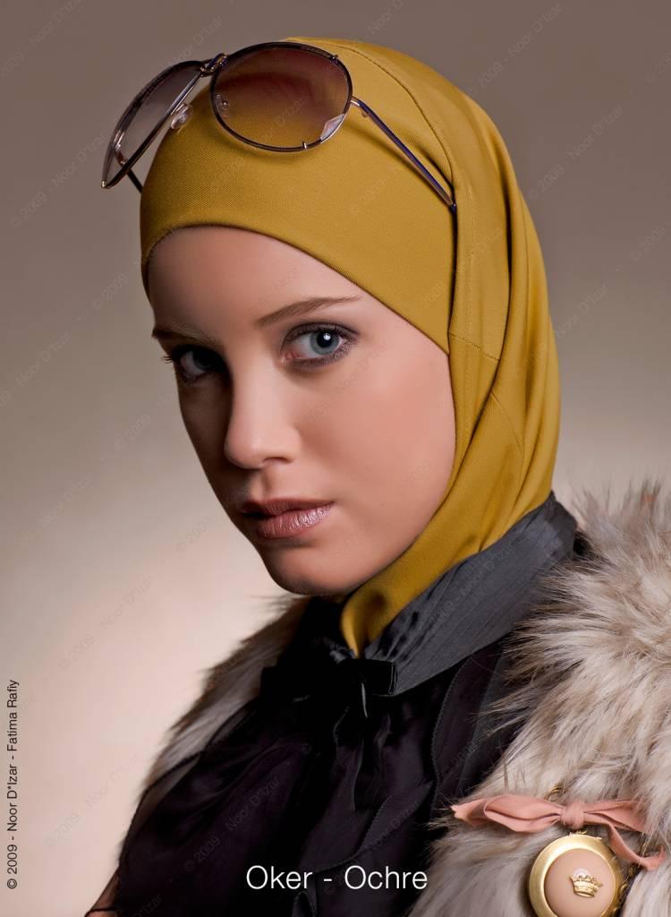 Noor D*Izar Imsar hoofddoek - Oker