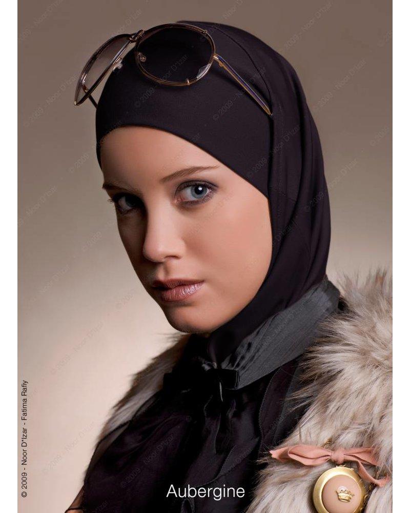 Noor D*Izar Imsar hoofddoek - Aubergine