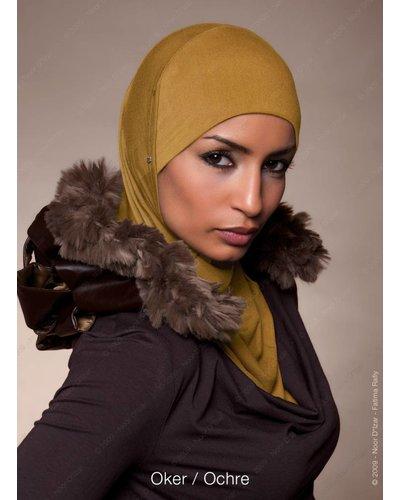 Noor D*Izar Suraya hoofddoek - Oker