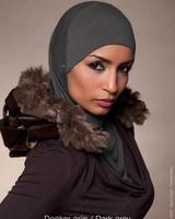 Noor D*Izar Suraya - Dark grey