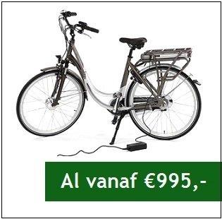 Elektrische fiets vanaf €995,-