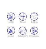 Evolon Evolon Anti Allergische kussensloop + rits (set van 2)