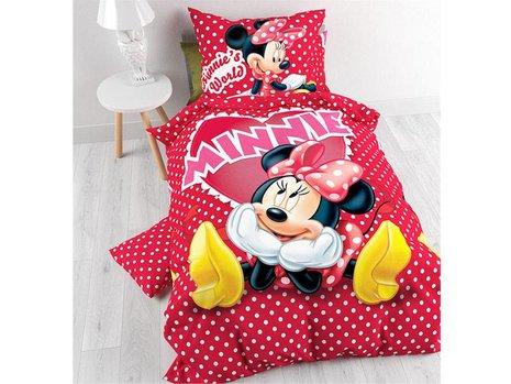 Kinderdekbedovertrek Minnie in Love