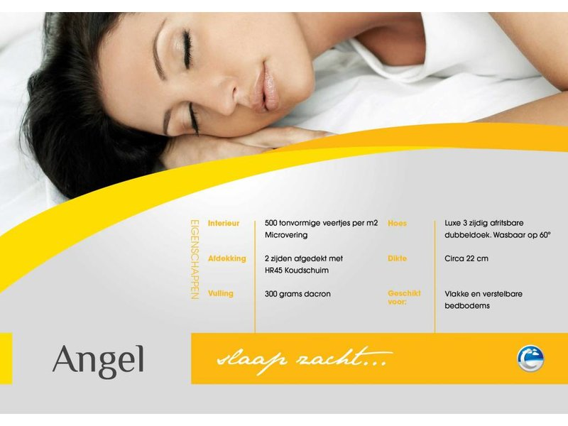 Lusanna.nl Pocketveermatras Angel + koudschuim