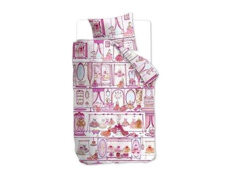 Beddinghouse Kids Princess Wardrobe Dekbedovertrek - Pink