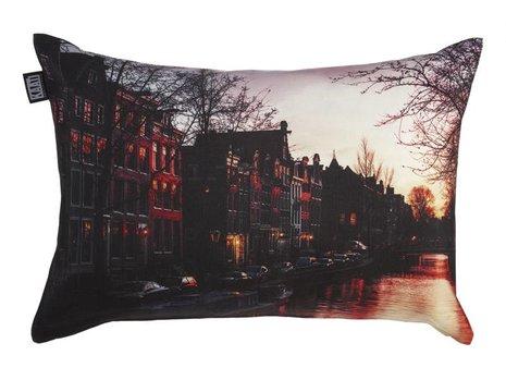KAAT Amsterdam Grachtengordel Sierkussen Multi