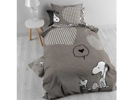 Kinderdekbedovertrek Snoopy