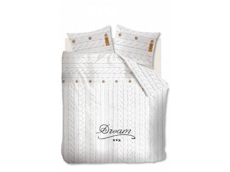 Beddinghouse Knitted Dream Dekbedovertrek - Wit
