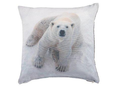 KAAT Amsterdam Polar Sierkussen - Wit
