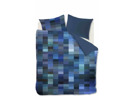 Beddinghouse Tangle Lakes Dekbedovertrek - Blauw