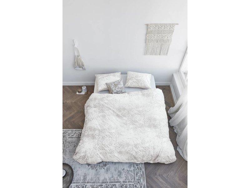 At Home At Home Soft Dekbedovertrek - Wit