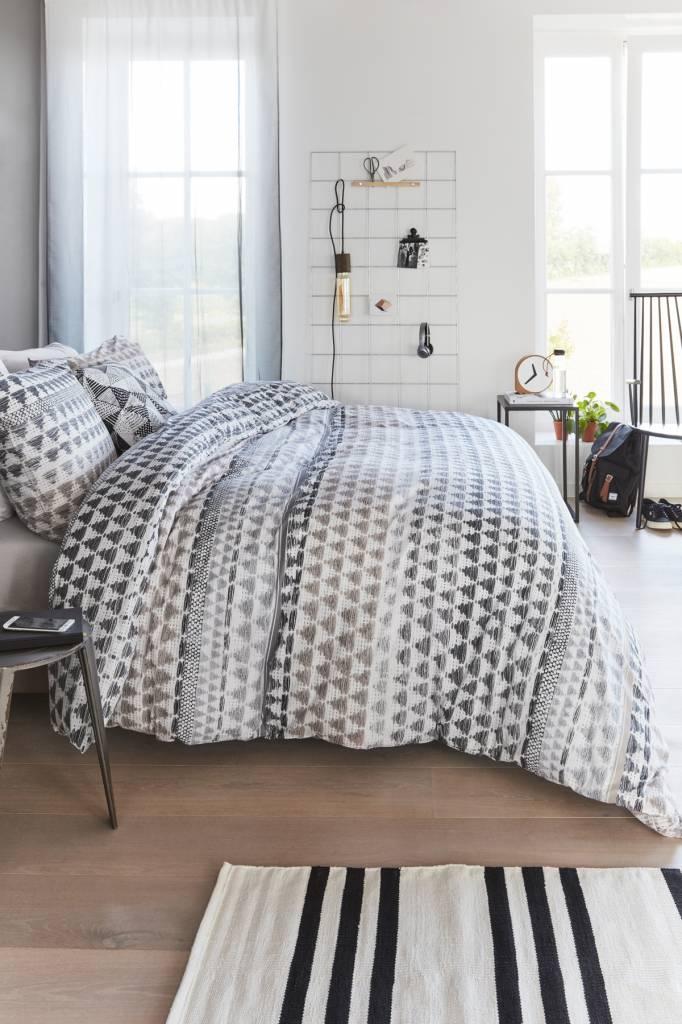 beddinghouse gail dekbedovertrek zand kopen. Black Bedroom Furniture Sets. Home Design Ideas