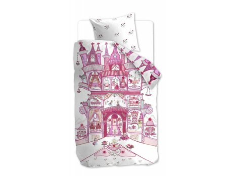 Beddinghouse Kids Fairy Palace Dekbedovertrek - Roze