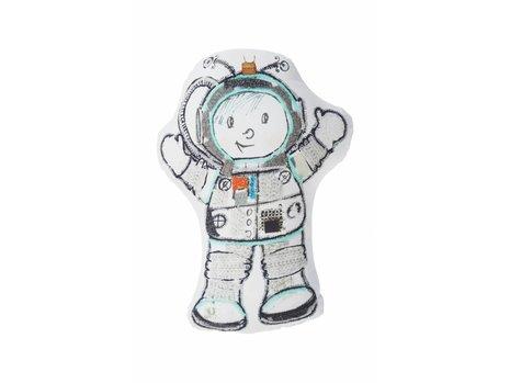 Beddinghouse Kids Astronaut Sierkussen - Grijs