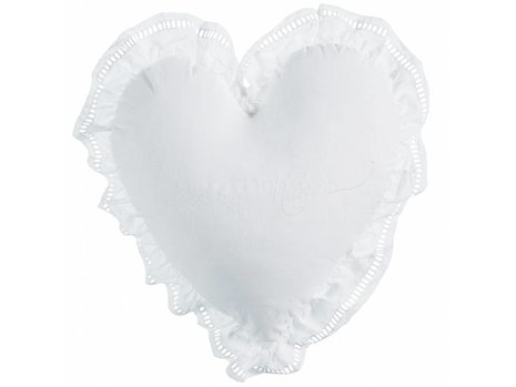 Rivièra Maison Romance Sierkussen - Wit