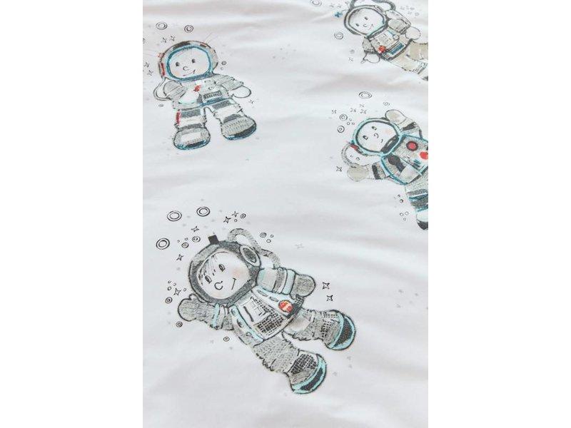 Beddinghouse Kids Beddinghouse Kids Astronaut Dekbedovertrek - Grijs