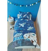 Beddinghouse Kids Beddinghouse Kids Space Dekbedovertrek - Blauw