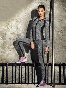Adriana Arango Adriana Arango Fitness-Dress Grau 3-teilig