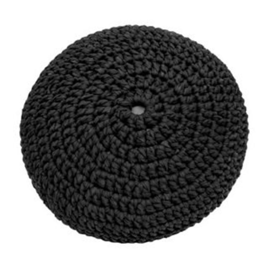 Pouf filling ø 80 cm Black