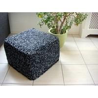 thumb-Vierkante Poef - 40 x 40 x 20 cm-3