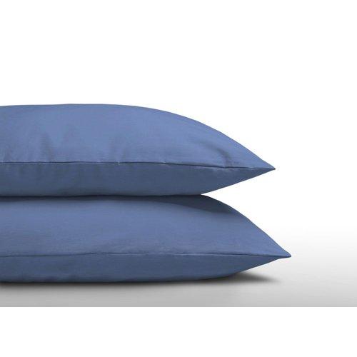DreamHouse Kussenslopen - Katoen - Blauw - Set 2 Stuks