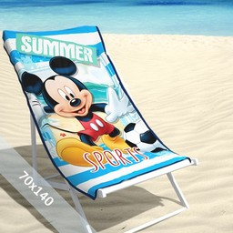 Disney Strandlaken - Mickey Mouse - Summer - 70x140 cm