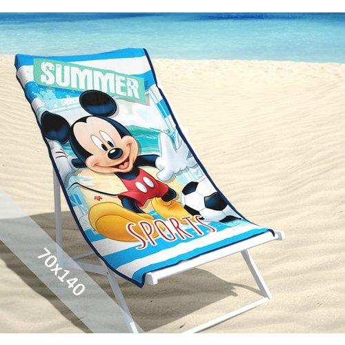 Disney Strandlaken - Mickey Mouse - Summer - 70x140 cm