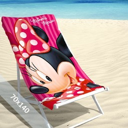 Disney Strandlaken - Minnie Mouse - Summer - 70x140 cm