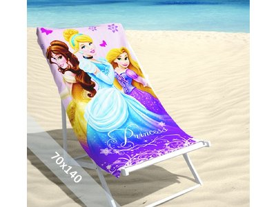 Disney Strandlaken - Prinsessen - 70x140 cm