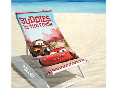 Disney Strandlaken - Cars 2 Buddies - 70x140 cm