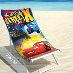Disney Strandlaken - Cars 2 Street - 70x140 cm