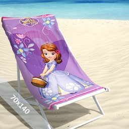 Disney Strandlaken - Sofia the First - 70x140 cm