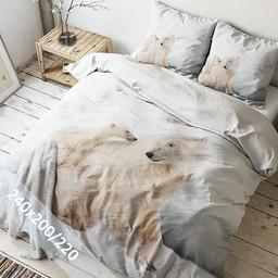 Sleeptime Dekbedovertrek - Icebears - 240x220 cm
