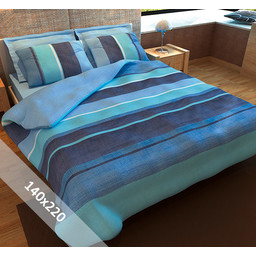 Sofiben® Dekbedovertrek - Blue Sea - 140x220 cm