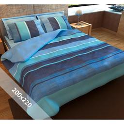 Sofiben® Dekbedovertrek - Blue Sea - 200x220 cm