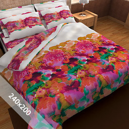 Sofiben® Dekbedovertrek - Colorfull - 240x200 cm