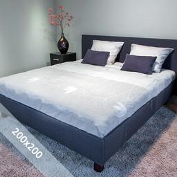 Sofiben® Dekbedovertrek - Bluma - 200x200 cm