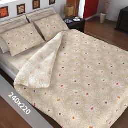 Sofiben® Dekbedovertrek - Bloem - 240x220 cm