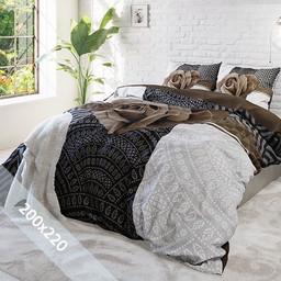 Sleeptime Dekbedovertrek - Garden Rose 2 - Taupe - 200x220 cm