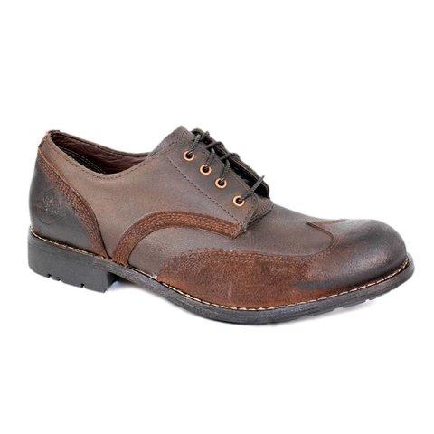 Handgemaakte leren schoen