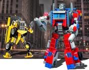 Transformers speelgoed bouwstenen